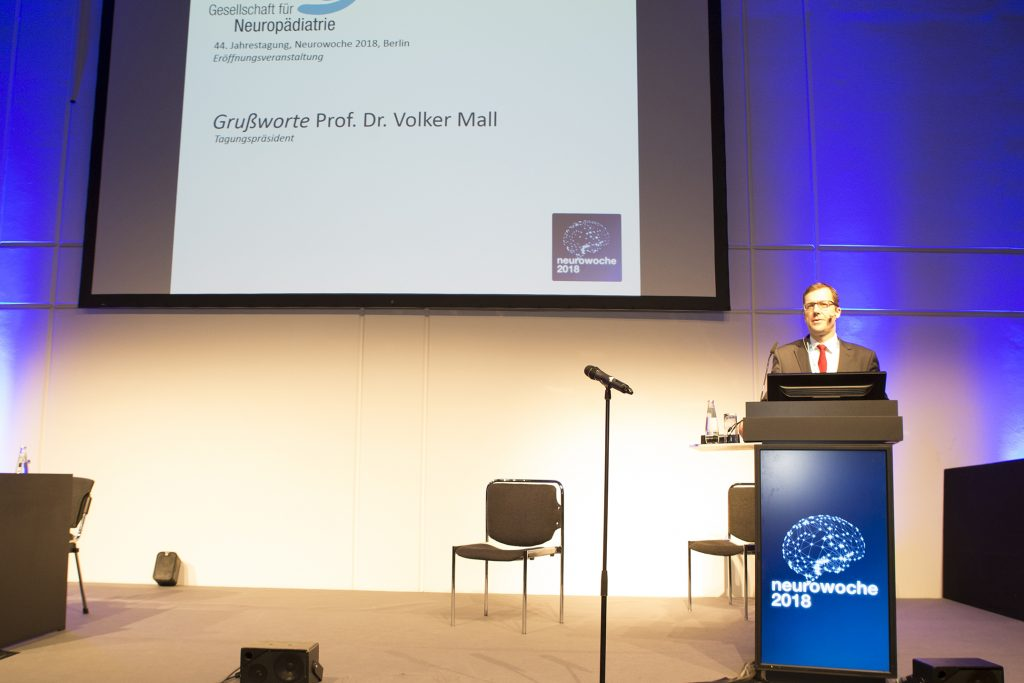 Prof. Dr. Volker Mall (München), Tagungspräsident GNP 2018