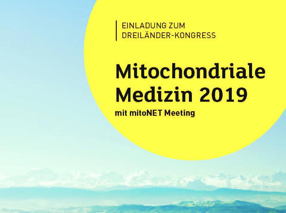 Dreiländer-Kongress Mitochondriale Medizin 2019