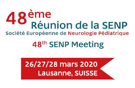 48ème Réunion de la Société Européenne de Neurologie Pédiatrique (SENP)