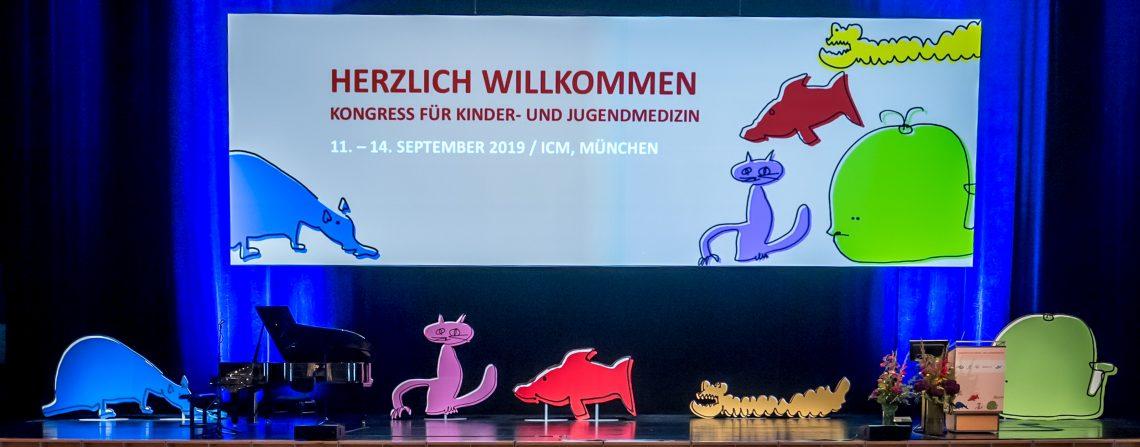 Kongress für Kinder- und Jugendmedizin 2019 Quelle; m:con - mannheim:congress GmbH, © Fotograf: Thomas Hauss