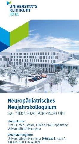 Neuropädiatrisches Neujahrskolloquium